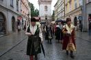 Kraków. Intronizacja króla kurkowego A.D. 2013-11