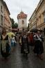 Kraków. Intronizacja króla kurkowego A.D. 2013-12
