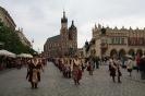 Kraków. Intronizacja króla kurkowego A.D. 2013-26